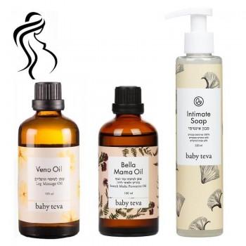 Набор для Беременных #1 - косметика для беременных девушек, которые дают предпочтение маслам
